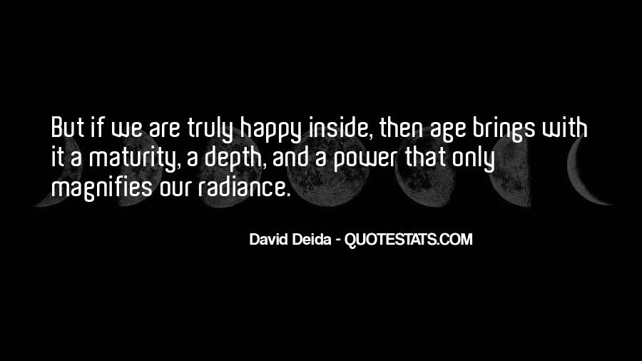 Quotes About Maturity And Age #852535