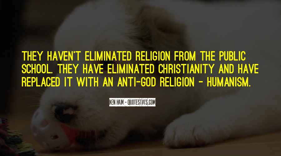 Quotes About Anti Religion #373144