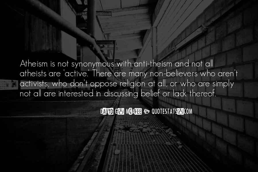 Quotes About Anti Religion #596495