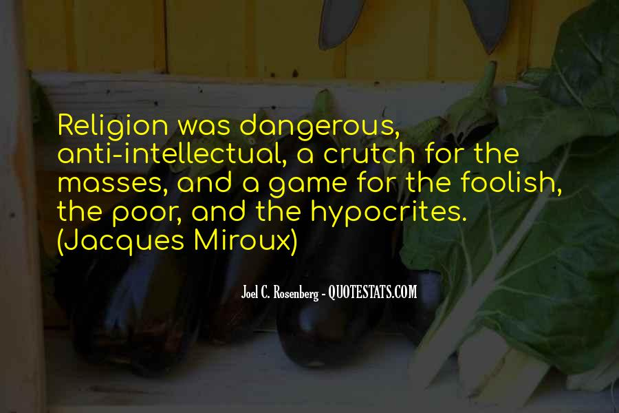 Quotes About Anti Religion #604334