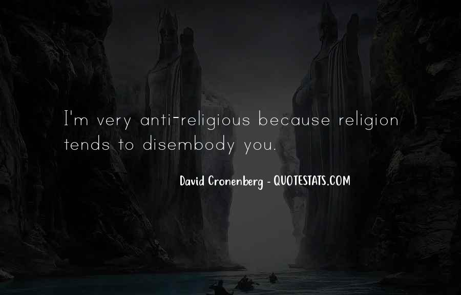 Quotes About Anti Religion #816747