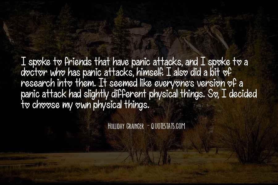 Quotes About Having Panic Attacks #694863
