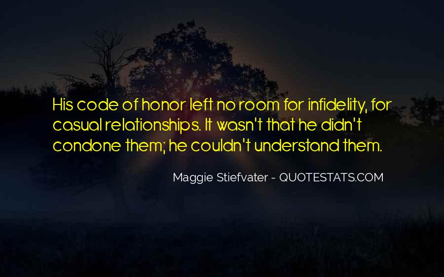 Quotes About Code Of Honor #1213335