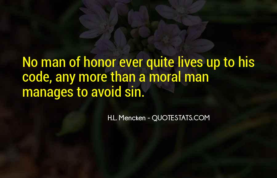 Quotes About Code Of Honor #1306169