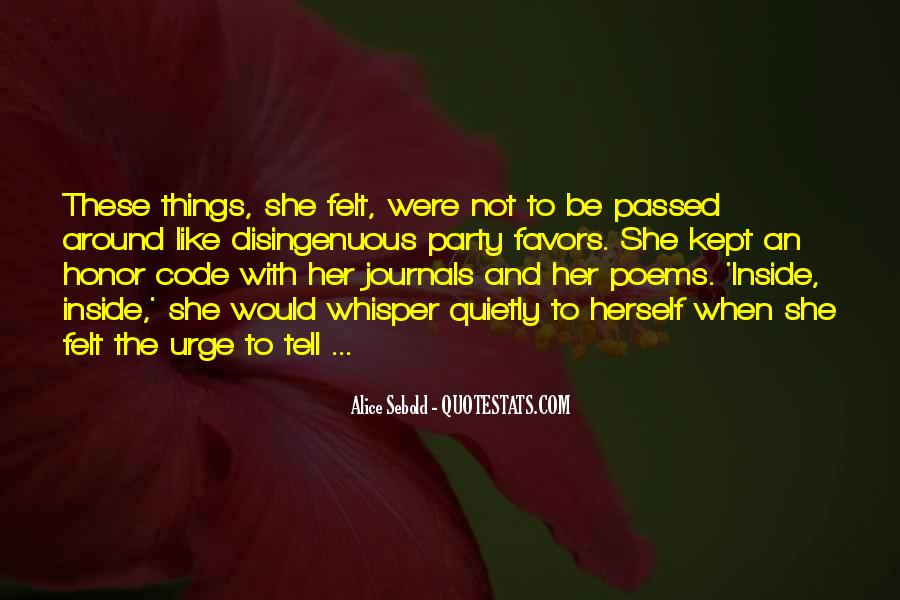 Quotes About Code Of Honor #347679