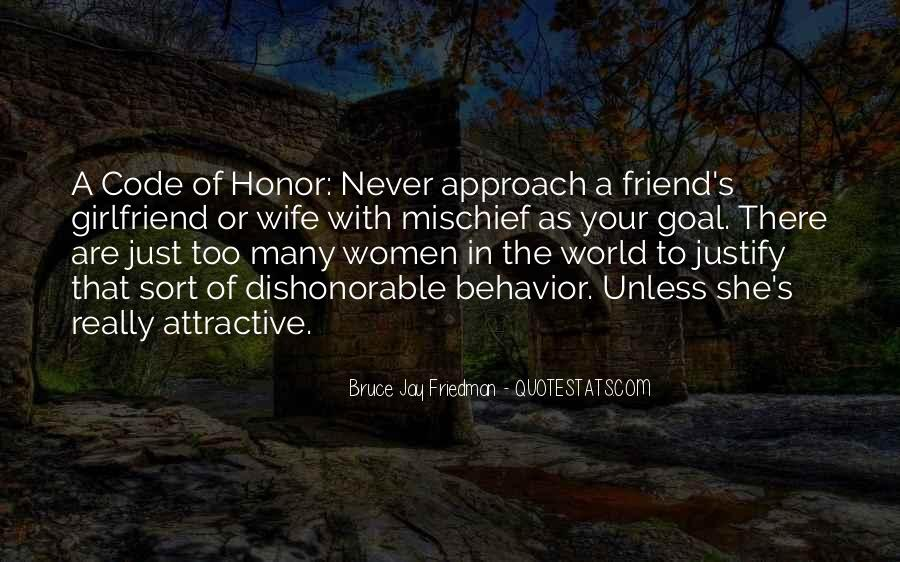 Quotes About Code Of Honor #941462