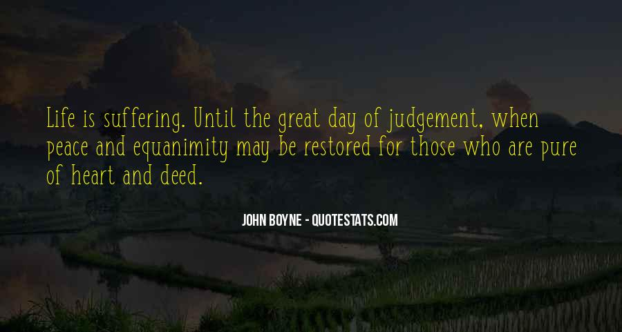 Quotes About The Day Of Judgement #1346612