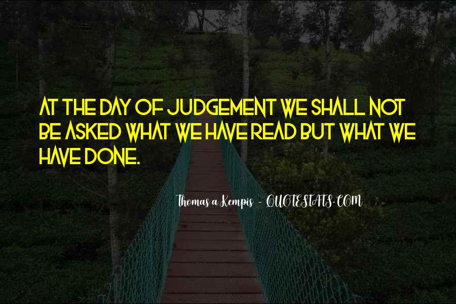 Quotes About The Day Of Judgement #602816