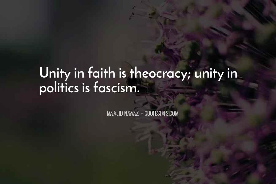 Quotes About Unity In Politics #1274407