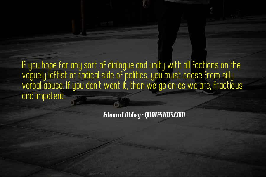 Quotes About Unity In Politics #363426