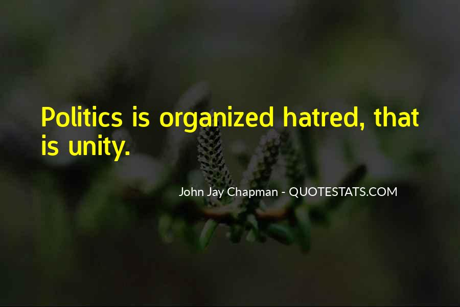 Quotes About Unity In Politics #807730