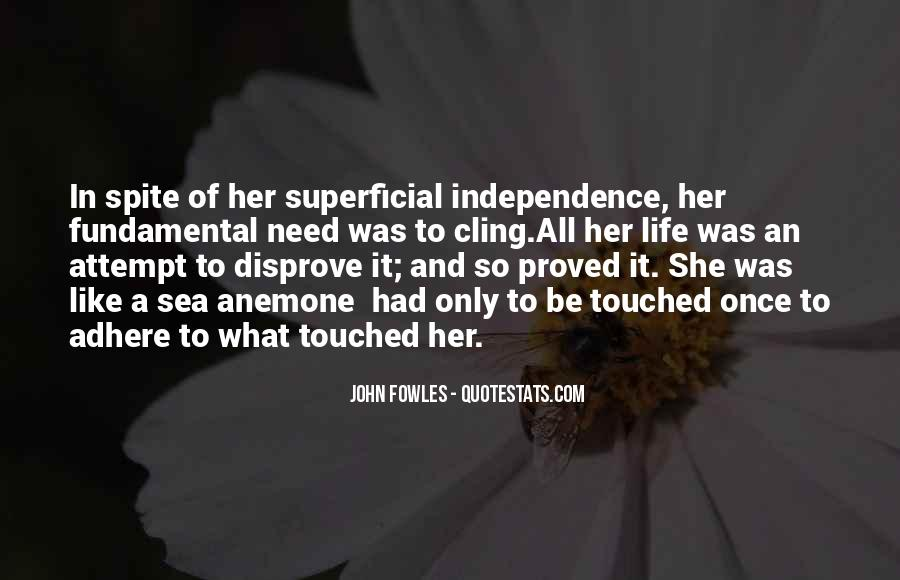 Quotes About Touched #17542