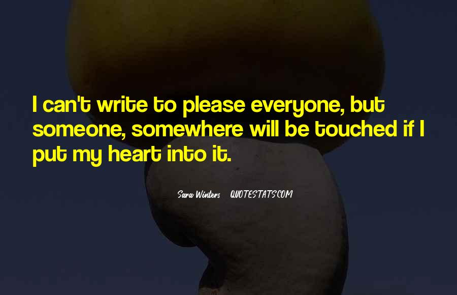 Quotes About Touched #18793