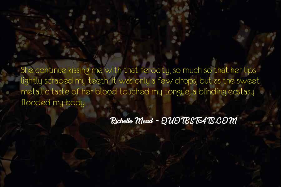 Quotes About Touched #44143