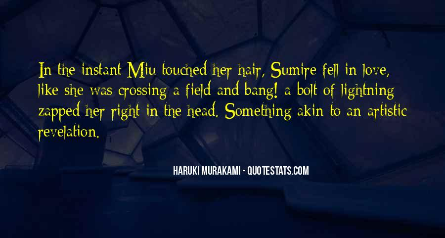 Quotes About Touched #45007