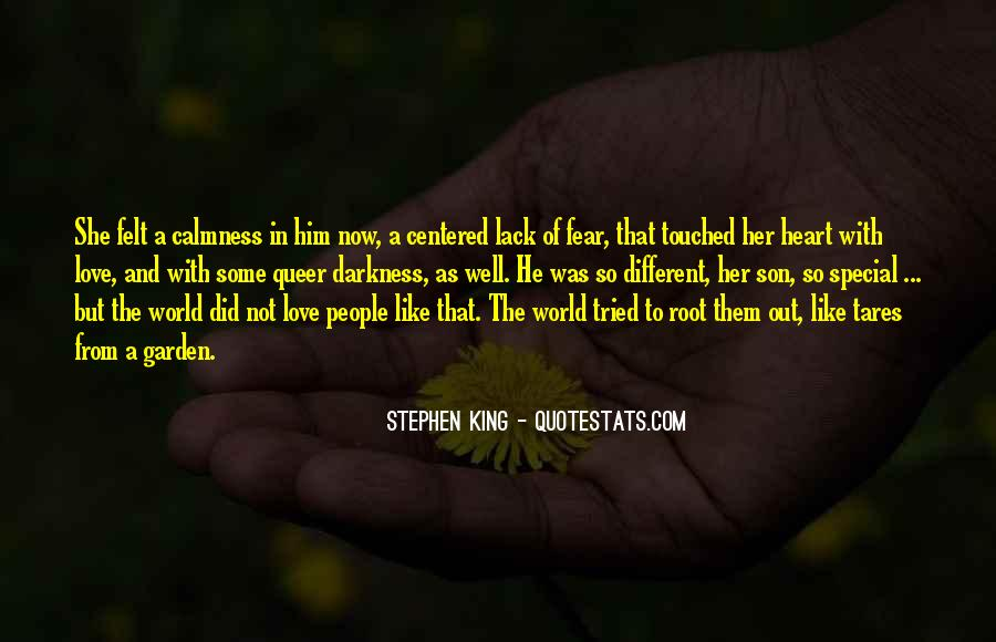 Quotes About Touched #57321
