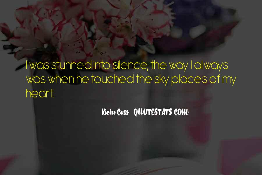 Quotes About Touched #81293