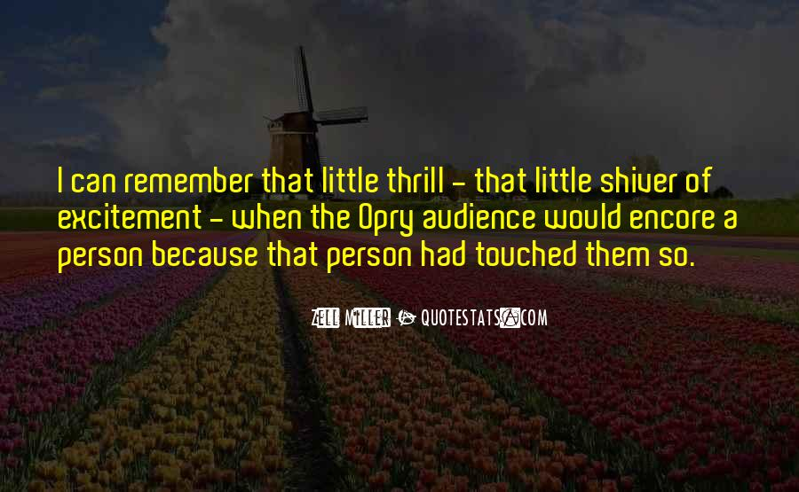 Quotes About Touched #83443