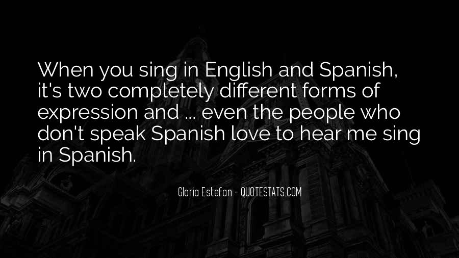Quotes About Love Spanish And English #275431