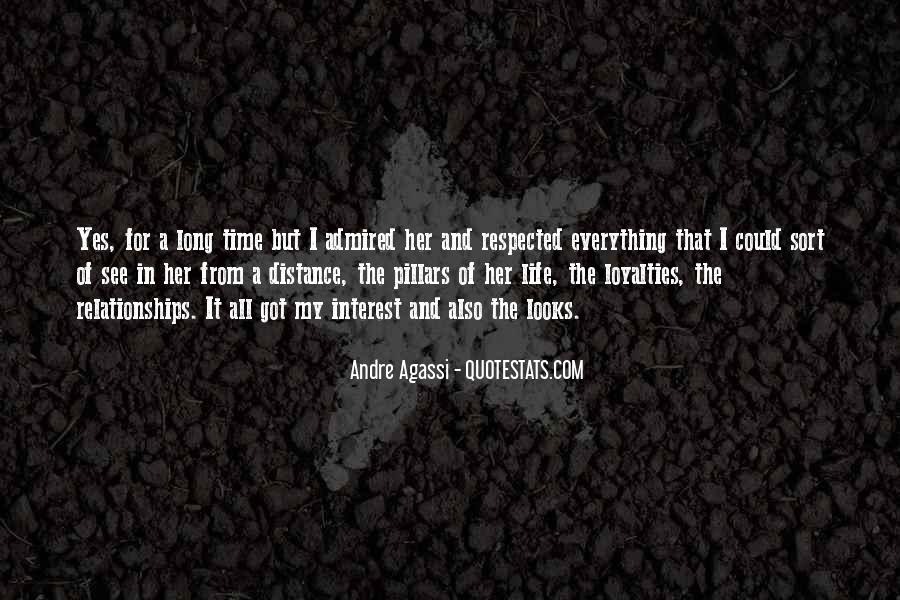Quotes About Loyalties #1134517