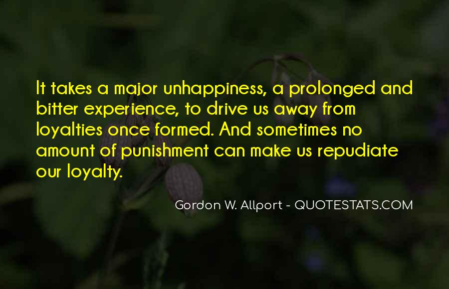 Quotes About Loyalties #1239234