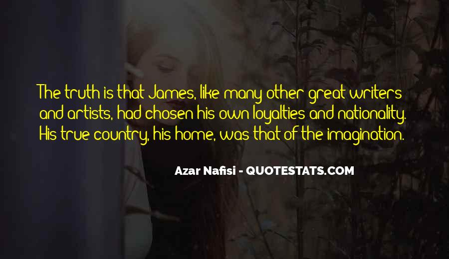 Quotes About Loyalties #847996