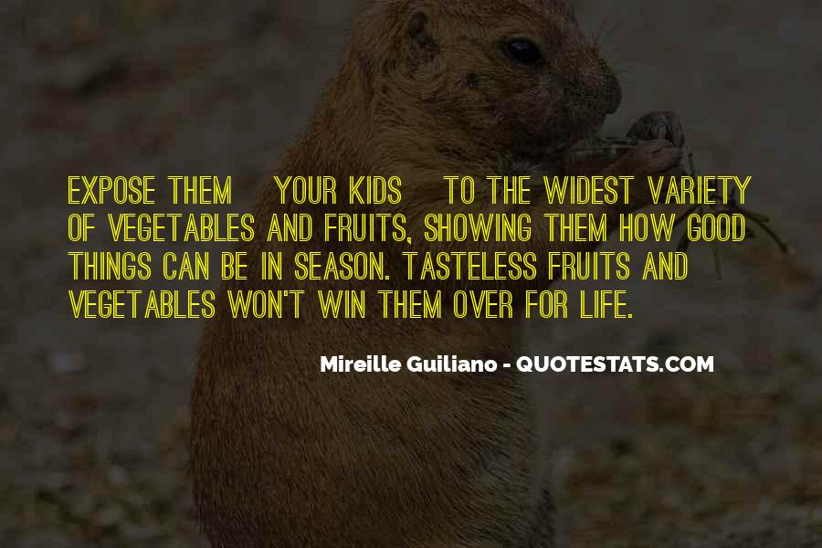 Quotes About Vegetables And Kids #1124045