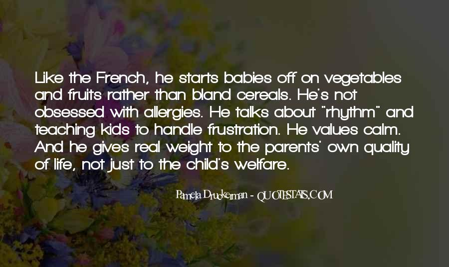 Quotes About Vegetables And Kids #247366