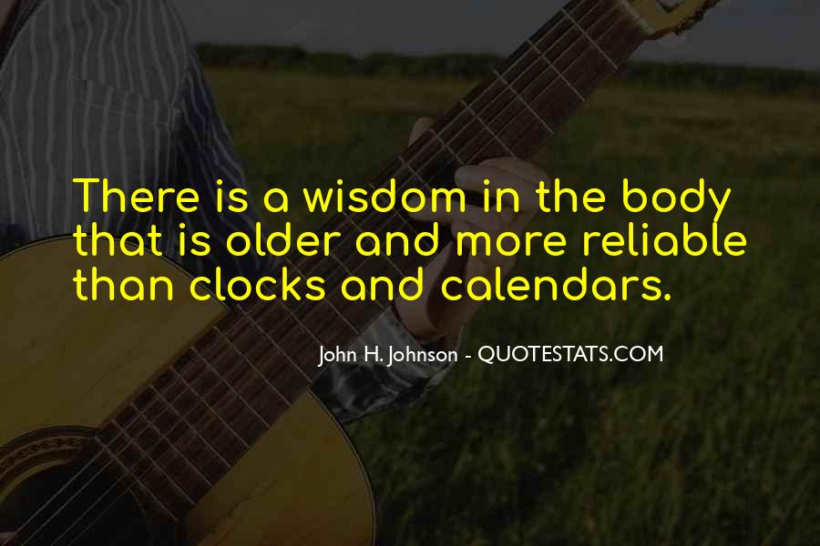 Quotes About Body Clock #1543549