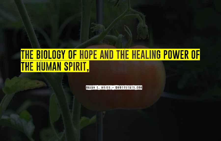 Quotes About Hope And Healing #1184734