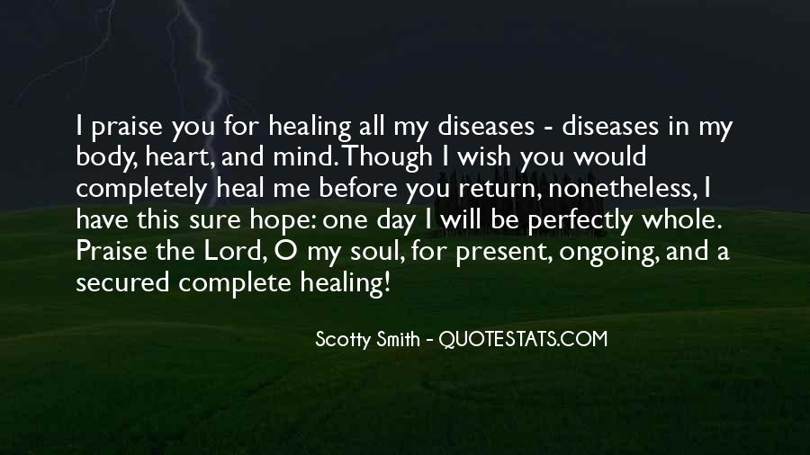 Quotes About Hope And Healing #1262669