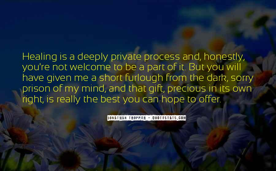 Quotes About Hope And Healing #484812