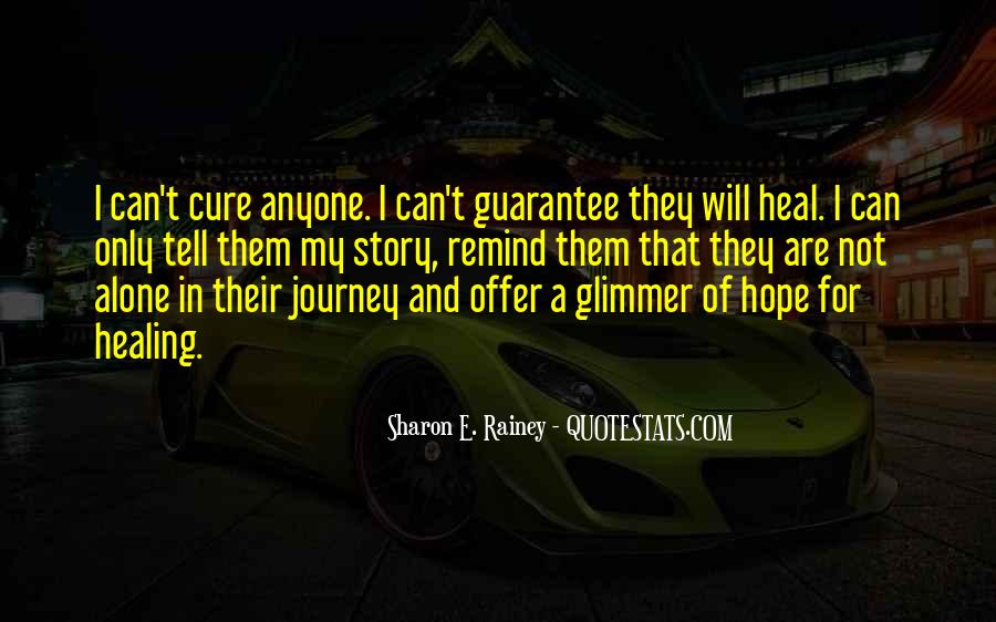 Quotes About Hope And Healing #82890