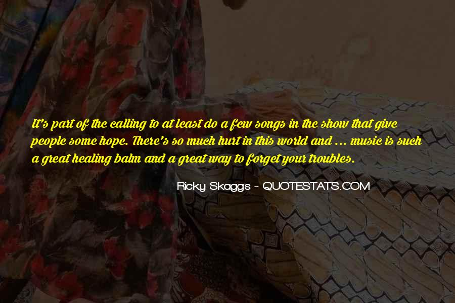 Quotes About Hope And Healing #927692