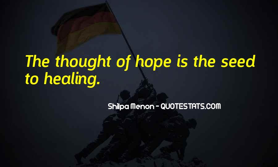 Quotes About Hope And Healing #938950