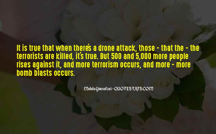Quotes About Bomb Blasts #1409947