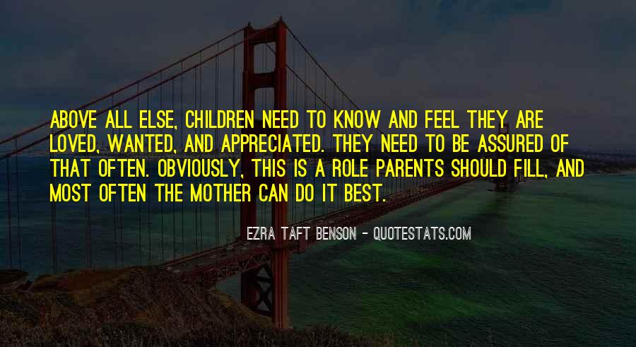 Quotes About Role Of Parents #311938