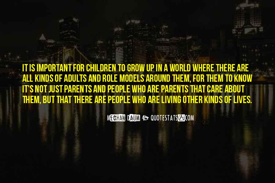 Quotes About Role Of Parents #830354
