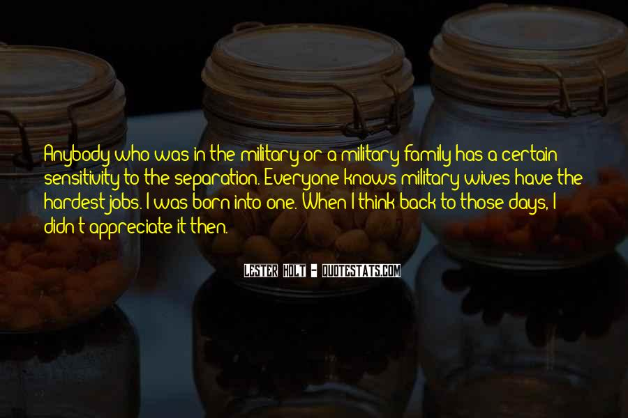 Quotes About Military Wives #1752344