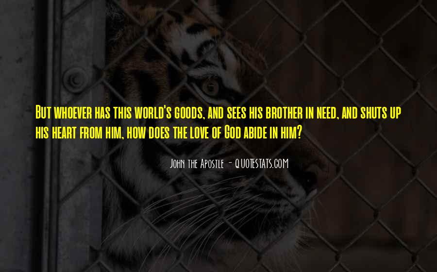 Quotes About Love For Your Brother #166791