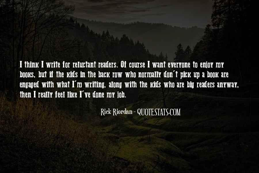 Quotes About Writing By Rick Riordan #1235042