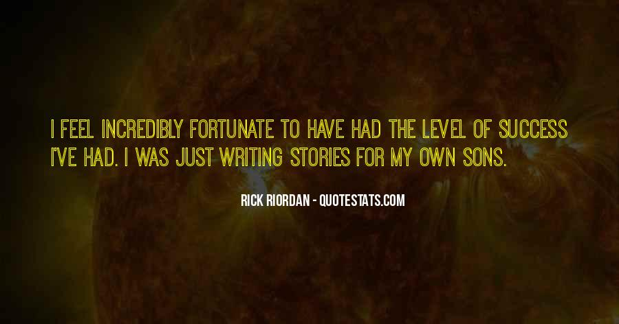 Quotes About Writing By Rick Riordan #1260661