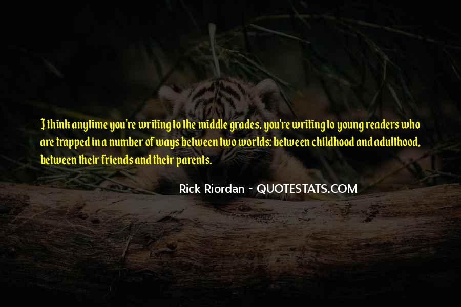 Quotes About Writing By Rick Riordan #1717463