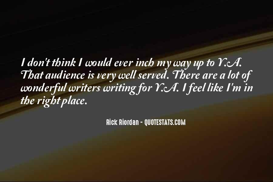 Quotes About Writing By Rick Riordan #1772874