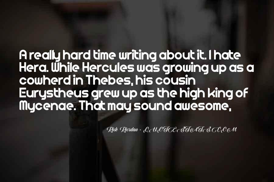 Quotes About Writing By Rick Riordan #340326