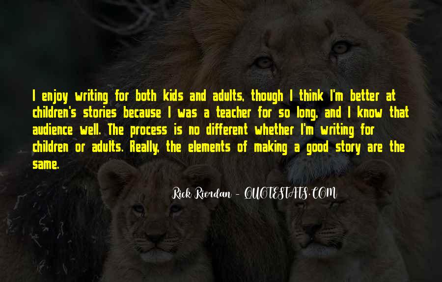 Quotes About Writing By Rick Riordan #536695