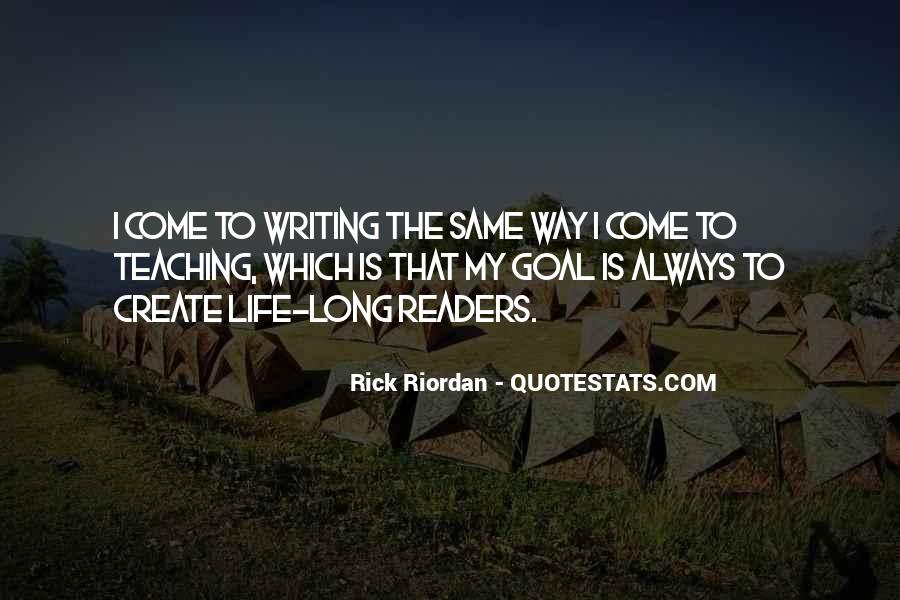 Quotes About Writing By Rick Riordan #98698