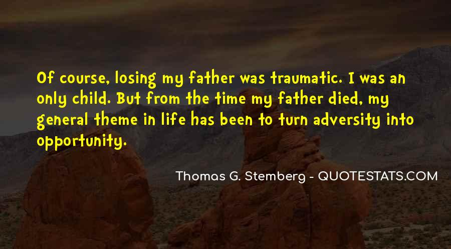 Top 31 Quotes About Losing Father: Famous Quotes & Sayings ...