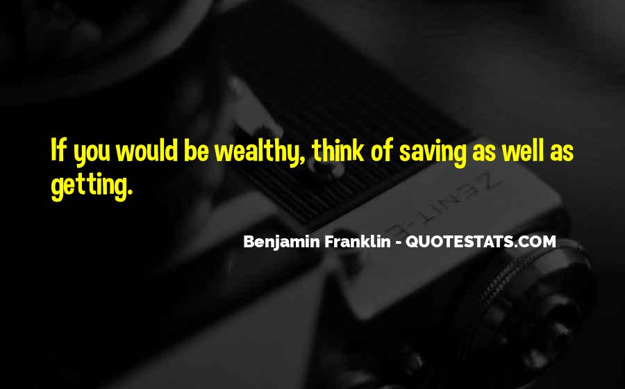 Quotes About Saving Money #1071340