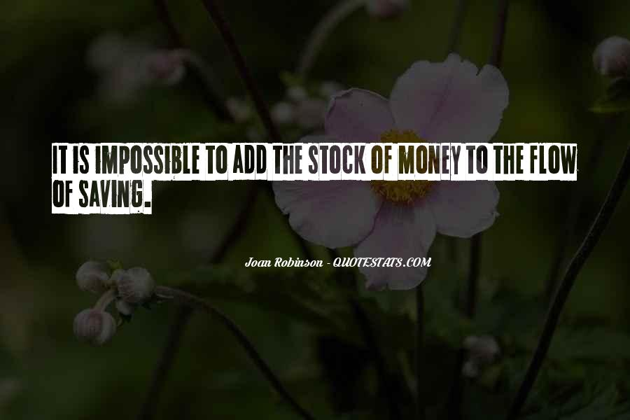 Quotes About Saving Money #108389